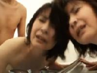 不倫マラにイキ捲る素人妻が夫に詫びながらイキ捲るエロ動画