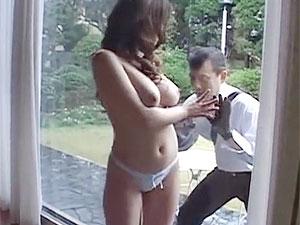 ヘンリー塚本のエロ動画で巨乳令嬢が空き巣を逆に誘惑し捲る