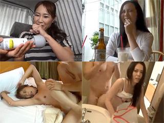 【素人妻☆ナンパ】素人の奥様たちは皆ナンパ師の積極的なアプローチを期待してます…そんな人妻2人が男の強引なセックスにがんがんイカされ捲るSEX動画です|無料エロ動画ガチヌキ