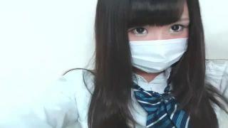 ガチかわいい素人JKが胸チラパンチラ連発するライブチャット動画