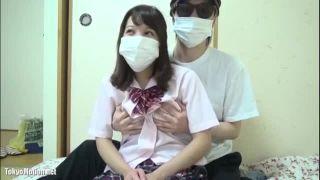 高校生バカップルがリアルSEXを生配信したJKライブチャット動画