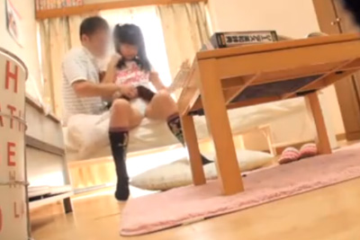 家庭教師が教え子JCへの性教育SEXを隠し撮り投稿した盗撮動画