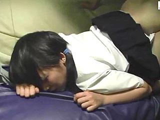 カラオケ個室で素人JKをハメ撮りした個人撮影の援交SEX動画