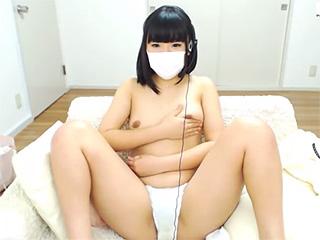 素人盗撮ライブチャット黒髪清楚なムッチリJD乳首オナニー生配信エロ動画