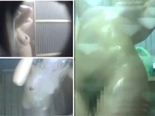 海の家シャワー室巨乳ギャル隠し撮り丸出し全裸ヌード盗撮エロ動画