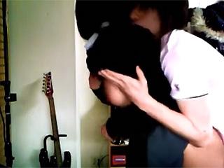 【素人盗撮☆連れ込み】家でGカップ巨乳JK彼女とのセックス内緒で隠し撮りしといたぞwヤリマンビッチだったので流出じゃww|無料エロ動画ガチヌキ